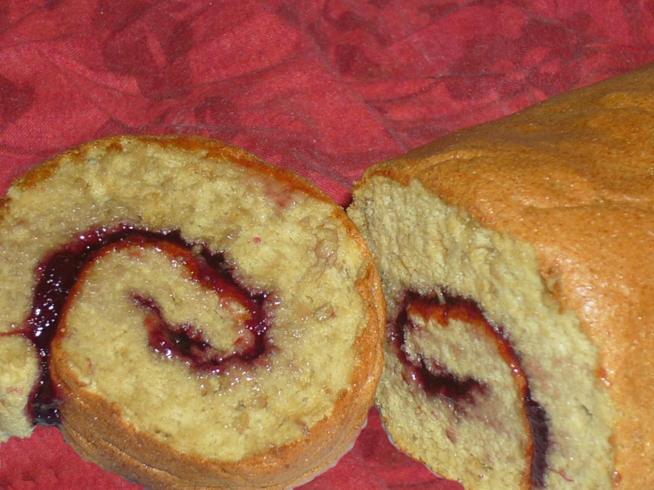 Roule A La Confiture Sans Gluten Sans Lactose Sans Soja Les